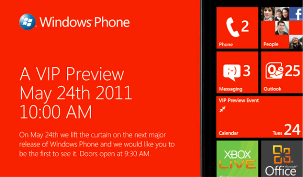 Windows Phone Invitation