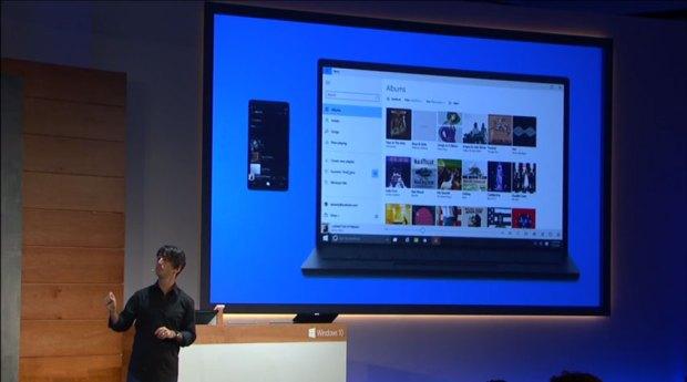 Microsoft's new Xbox Music on Windows 10 app. (Photo Credit Thurrot.com)