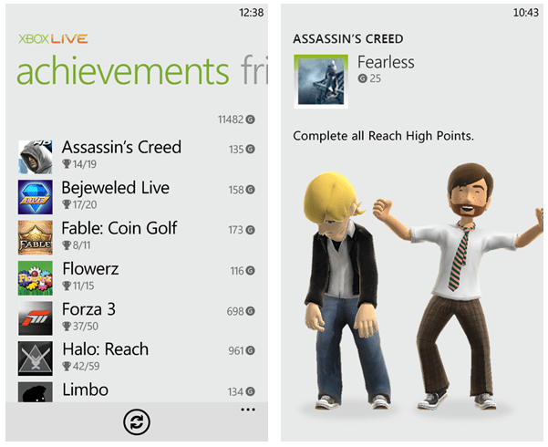 Xbox Live Improvements Coming in Mango