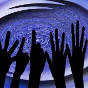 Poll image of raised hands
