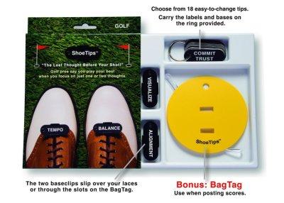 Image of ShoeTips golf gift product