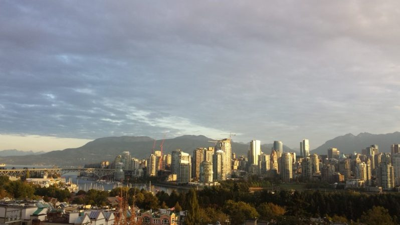 Image of Vancouver skyline.