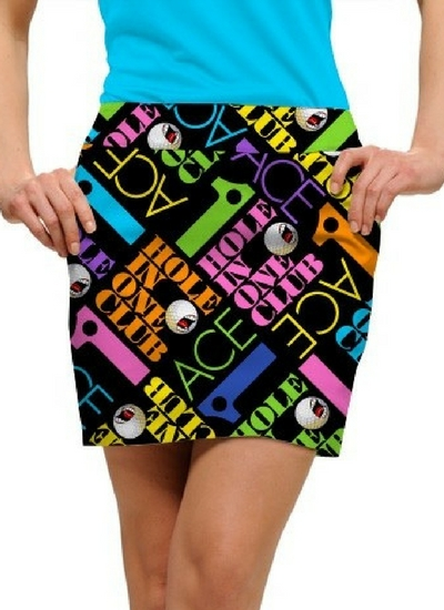 Image of Loudmouth Golf Ace skort