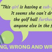 Image of Golf Grammar Graphic