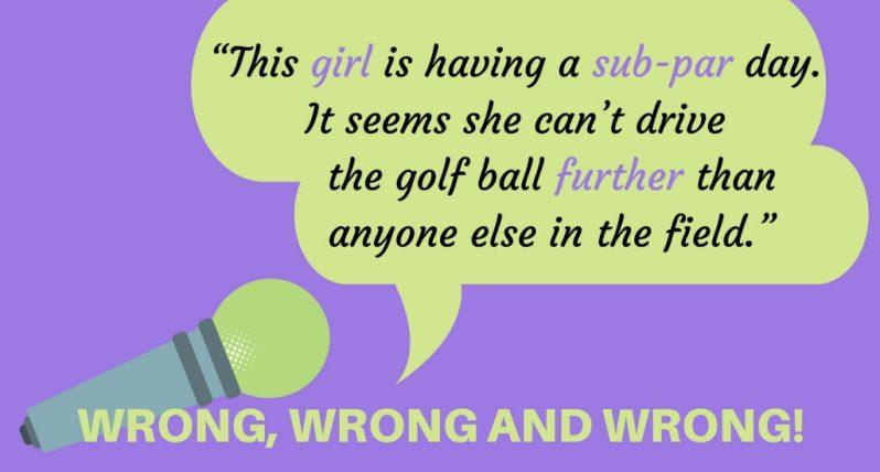 Image of Golf Grammar Graphic