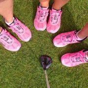 Image of golf team shoes