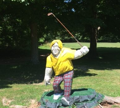 image of nicklaus sculpture