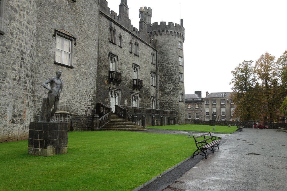Image result for kilkenny castle raining