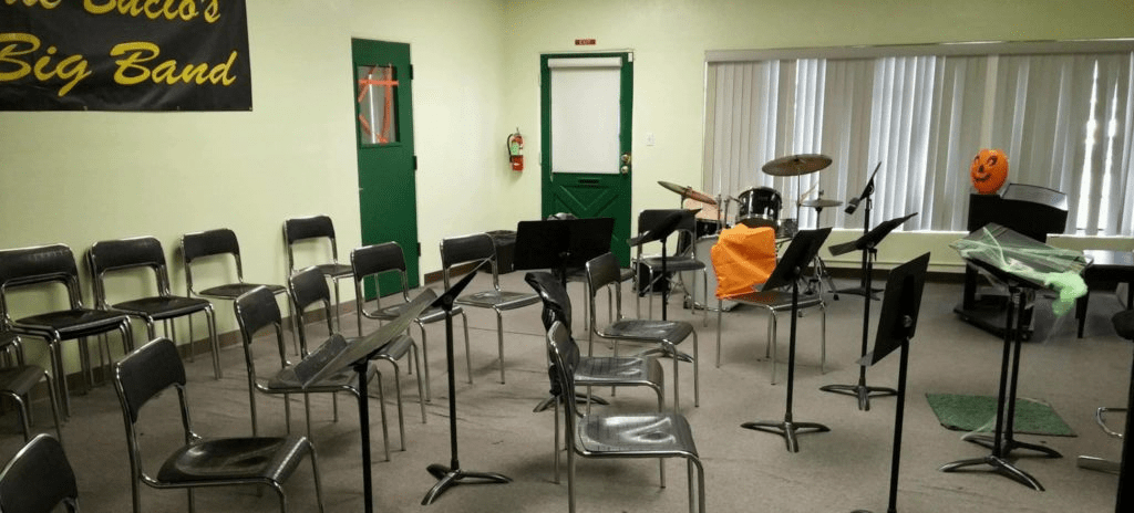 Need a rehearsal sapce? Gottschalk Music Center Band Room available to rent today!