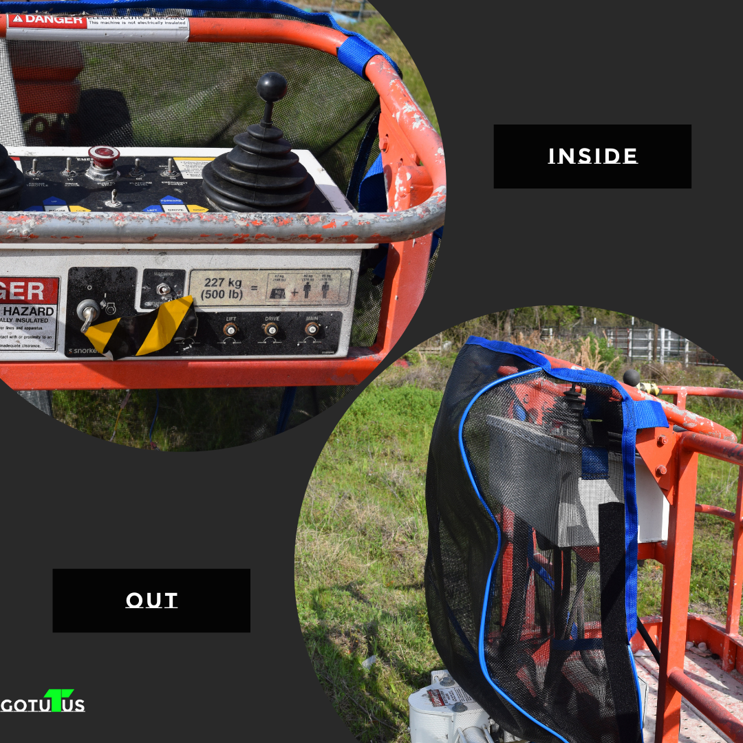Skyjack Control Panel Before and After