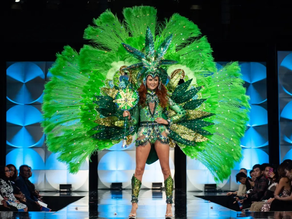 miss canada marijuana costume