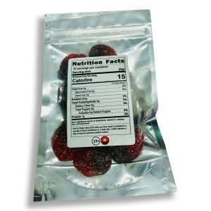 sweeties 200mg thc sour cherry slices back