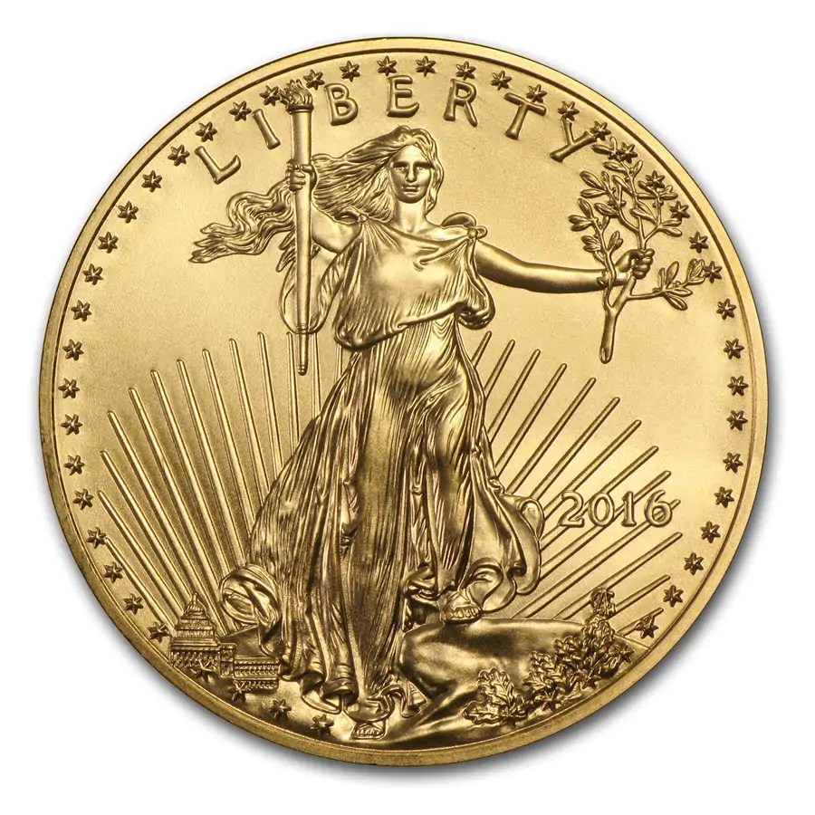 American Eagle gouden