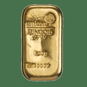 Umicore 500 gram goudbaar
