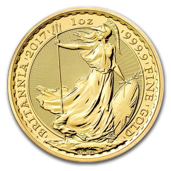 Britannia 1 troy ounce gouden munt 2017