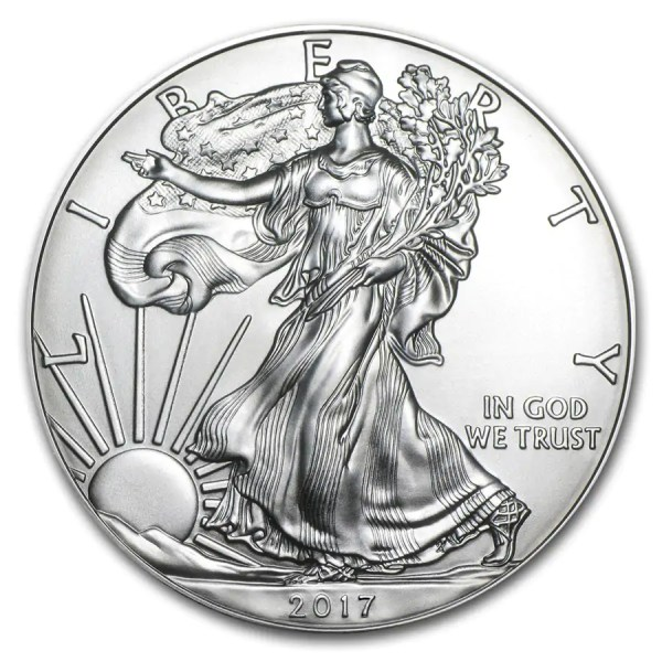 American Eagle 1 troy ounce zilveren munt 2017