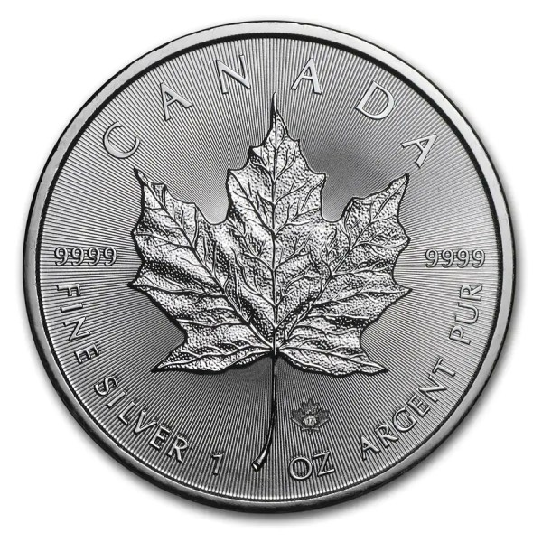 Maple Leaf 1 troy ounce zilveren munt 2017