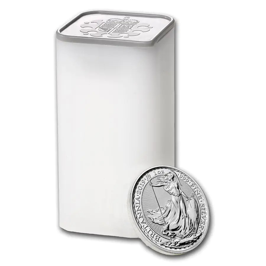 Britannia 1 troy ounce zilveren munt 2019