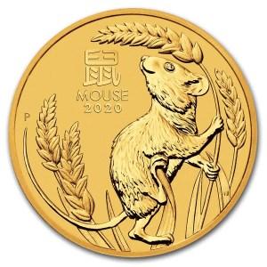 Lunar Mouse 1 troy ounce gouden munt