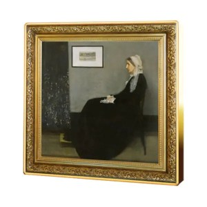 Whistler's Mother zilveren munt