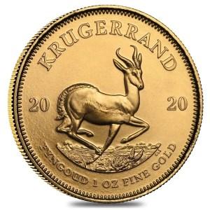 Krugerrand 1 troy ounce gouden munt 2020