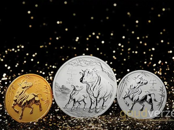 De 2021 Lunar III Series munten zijn gearriveerd!