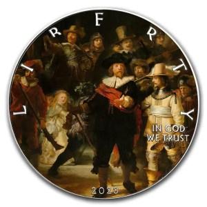 Eagle Rembrandt Nachtwacht