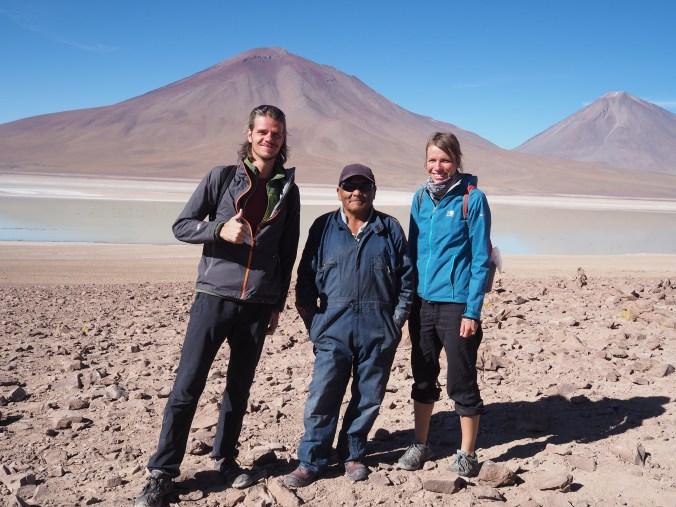 Our friendly guide Lino - close to Chilean border