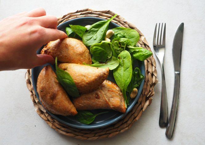chaussons végétariens protéines de soja