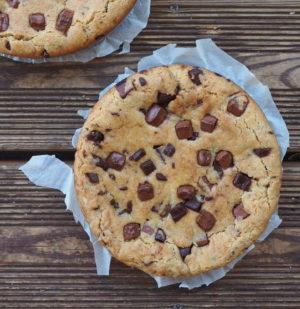 cookie géant et moelleux à partager