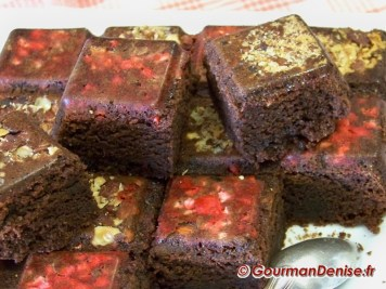 Brownies Pralines