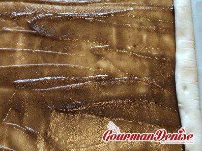 Palmiers à la crème de marron