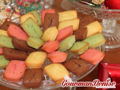 Minis financiers couleurs