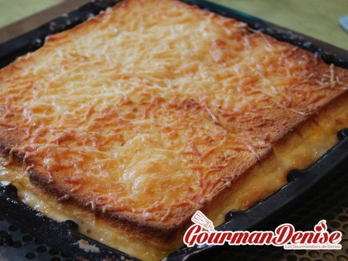 croque tablette raclette