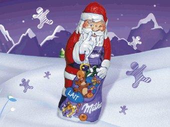 Père Noël Milka