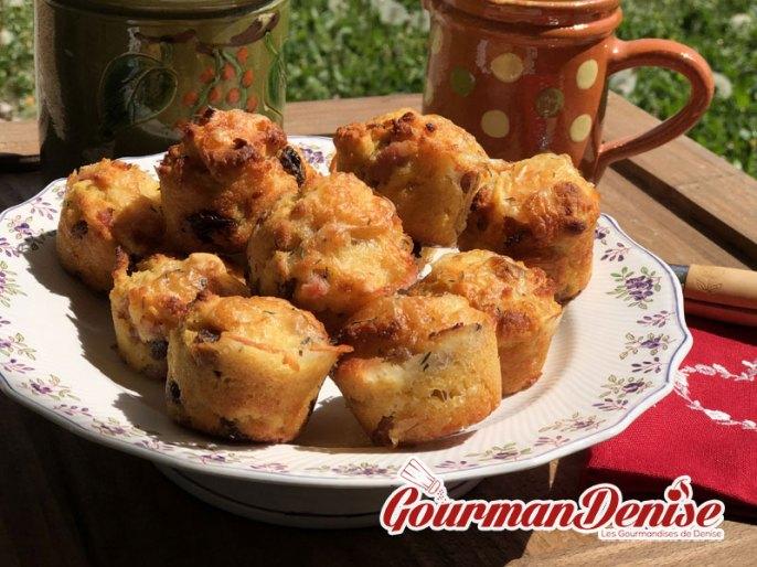 Muffins reblochon farine de pain
