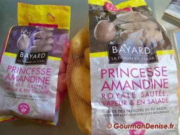 Bouchées pommes de terre tapenade