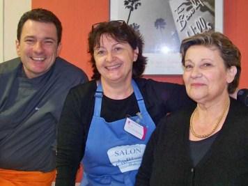 Avec Mamina et Benoit