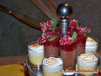 Verrine chocolat framboise
