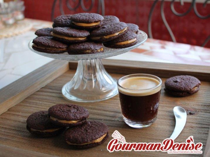 Whoopies chocolat café