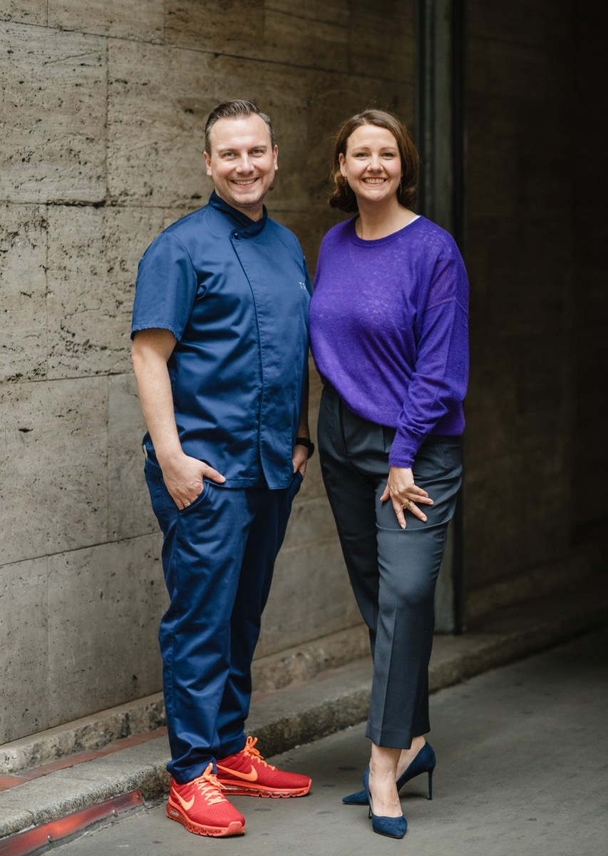 Marie-Anne Raue und Tim Raue