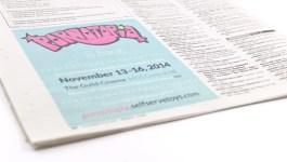 Pornotopia 2014 newspaper ad