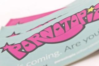 Pornotopia 2014 Stickers
