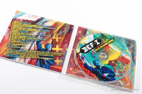 Def-I: Shields for Raining Arrows CD & Artwork