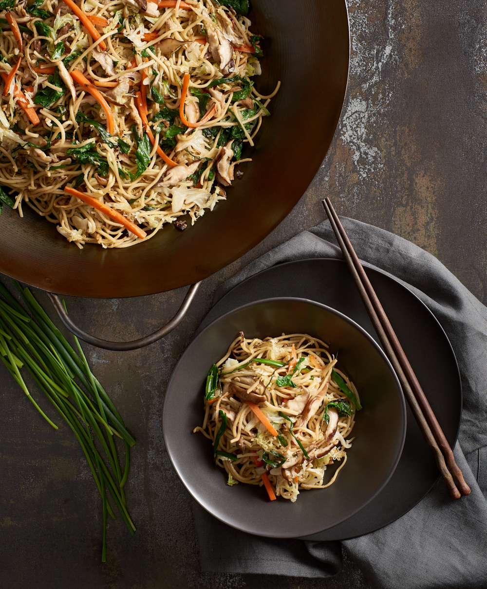 Stir Fried Noodles with Vegetables