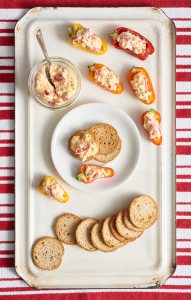 Pimiento Cheese Stuffed Peppers