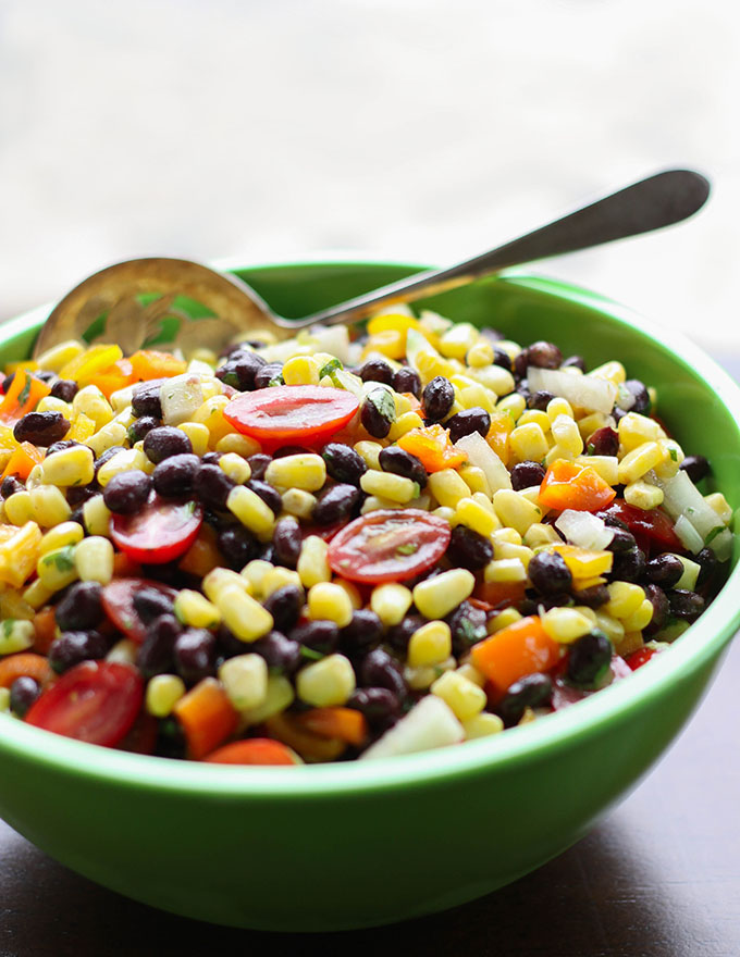 Perfect Potluck Black Bean and Corn Salad
