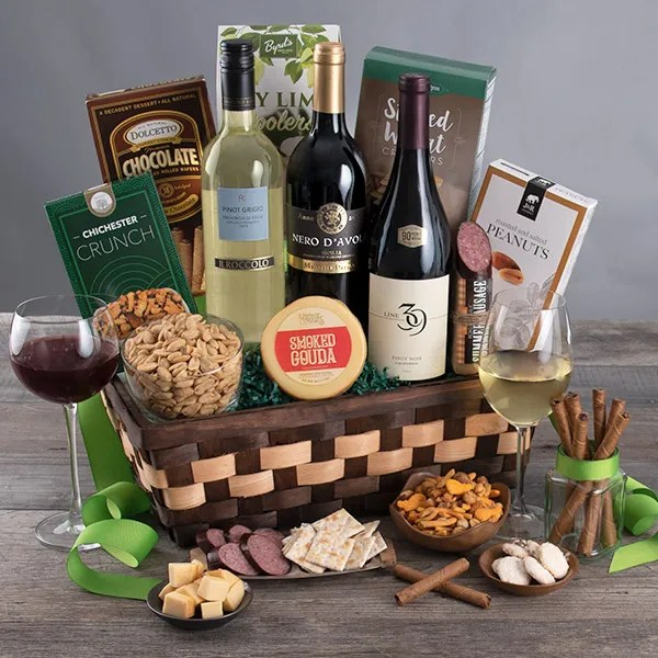 Wine Cellar Collection Gift Basket By