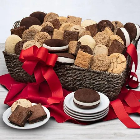 Baked Goods Deluxe Gift Basket By