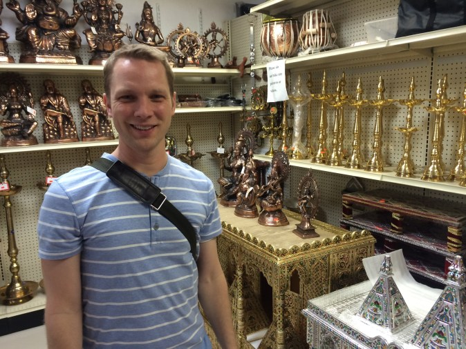 Shopping for some Buddha statutes - they got you covered in Artesia